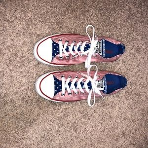 Other - American Flag Patriotic Converse